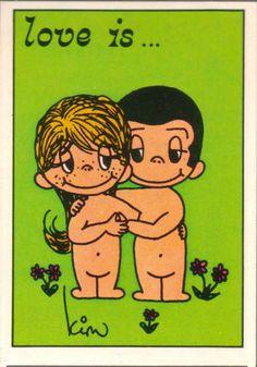 Tenia un album de laminitas de amor es...seria en 1976-77??