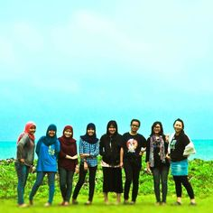Every girl is beautiful in her own unique way! Just like you you and you my wonderwomen!   Photo credits: @dhanusanjaya  Location:  Anyer Banten (MK 2010). #ww #IF09 #girls #tbt #throwbackthursday