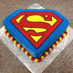 Superman cake. http://media-cache1.pinterest.com/upload/243546292318874793_2lWcoLf1_f.jpg mystical972 cakes