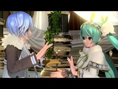 [60fps Full] カンタレラ Cantarella - Hatsune Miku KAITO 初音ミク カイト Project DIVA English lyrics Romaji PDA - YouTube