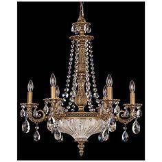 Schonbek la scala 12 12w heritage crystal mini chandelier m1709 schonbek milano 23w florentine bronze crystal chandelier aloadofball Choice Image