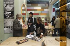Our booth at #Milan #design #week, at #Roh #Fiera. / Il nostro stand al #salone #internazionale del #mobile #milandesignweek #icons #furniture #italy #italia #iconsfurniture #rewood photo #henry #2013