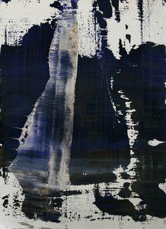 """Koen Lybaert; Oil 2014 Painting """"abstract N° 899"""""""