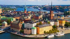 Top 20 Most Colorful Places in the World ~ Stockholm, Sweden