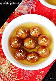 Gulab jamun recipe, learn to make india's popular sweet gulab jamun. A festive delight, often made during diwali, holi and navratri