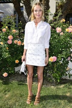 kate bosworth white look coachella 2015
