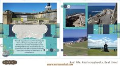 layout by Noreen Petty using CTMH Later Sk8r paper