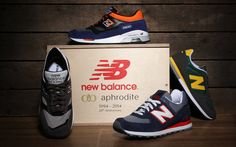 New Balance x Aphrodite 20th Anniversary Limited Edition Box - One of only 20 produced