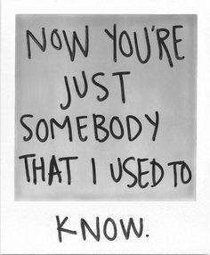 Somebody That I Used To Know | Gotye ft. Kimbra