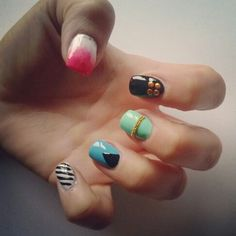 Simple nailart #nails #nailart #beauty