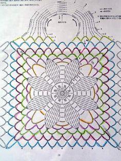 Crochet bag 790100328360006155 - teszek-veszek-vacakolok: Cekker Source by brigittemaminou Bag Crochet, Crochet Market Bag, Crochet Clutch, Crochet Basket Pattern, Crochet Diagram, Crochet Handbags, Crochet Purses, Crochet Chart, Love Crochet
