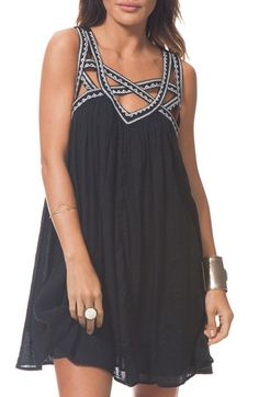 Free shipping and returns on Rip Curl 'Neverland' Cotton Shift Dress at Nordstrom.com. An intricate web of wide straps adds intrigue to this crinkle cotton swing dress, adding a modern edge to a leggy warm-weather staple.