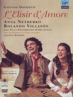 Donizetti - L'Elisir d'Amore / Eschwe, Netrebko, Villazon, Wiener Staatsoper - Listing price: $24.99 Now: $22.98