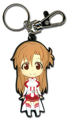 Sword Art Online Key Chain - Chibi Asuna Smile @Archonia_US