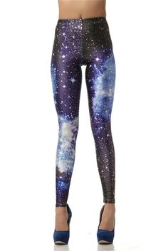 Legging 3D Digital Blue Galaxy Sexy Legins Fashion Slim Leggins Printed Women Leggings Women Pants Like and Share if you agree! Visit our store