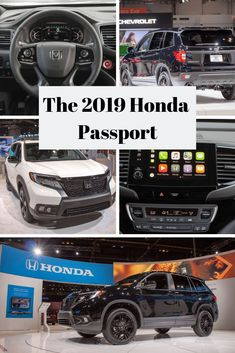 Interested in the revival of the Honda Passport? Learn more about the specs and features of the upcoming 2019 Honda Passport here at Continental Honda and reserve a test drive today! Honda Passport, Chicago Auto Show, Chicago Illinois, Driving Test, Drawing Tips, Automobile, Engineering, Cars, Gold