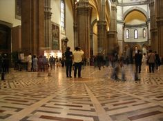 Interior of the Duomo, Florence