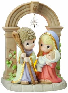 Precious Moments Unto Us A Child Is Born Figurine for only $49.99 You save: $75.01 (60%) + Free Shipping