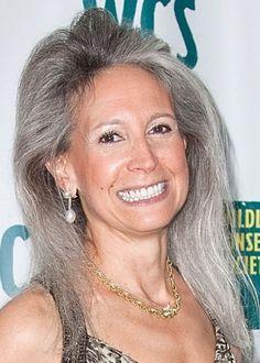 gray hair proud styles