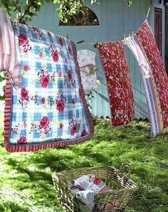 Linens on the line...sunshine....WARMTH!!!!
