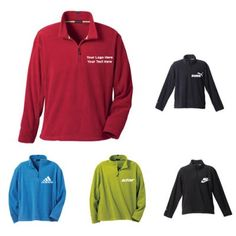 """Custom Printed Men's Lugano Microfleece Quarter Zip : Perfect for acknowledging your male customers during festive occasions, corporate events or other special times. Available Colors: Bay Blue, Black, Dark Citron Green, Navy, Vintage Red. Product Size: XS, S, M, L, XL, 2XL, 3XL. Imprint Area: Centered on Left Chest Right Chest 3.00"""" H x 3.00"""" W. Material: Anti Pill Microfleece. #ootd #menswear #promotionalproducts"""