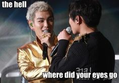 p and daesung Big Bang Memes, Daesung, Top Bigbang, Funny Boy, Top Of The World, Korean Celebrities, His Eyes, Bangs, Kdrama