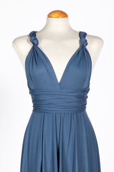 Hey, I found this really awesome Etsy listing at https://www.etsy.com/listing/180178500/indigo-blue-ready-to-ship-infinity-dress