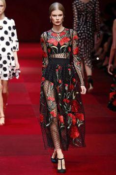 Milan Fashion Week Dolce & Gabbana Primavera-Verano 2015 | telva.com