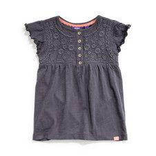 Mexx Kids Girls Embroidered Jersey Top