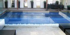 Negative Edge Pools with tiled edge