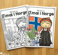Naturfagserie for barn Activities For Kids, Crafts For Kids, Arts And Crafts, 17. Mai, May National Days, Sons Of Norway, Constitution Day, Paper Hearts, Holidays And Events