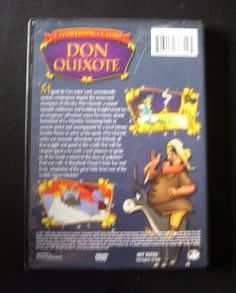 """A Storybook Classic - """"Don Quixote"""" DVD (2005) Animated"""