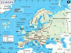 Europe is where modern day Italy and Greece are located.