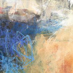 Nancy Hill oil pastel on paper