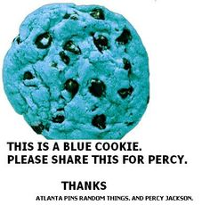 BLUE FOOD FOR EVERYONE IN THE PERCY JACKSON FANDOM