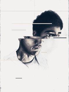 Saad Moosajee Self Portrait