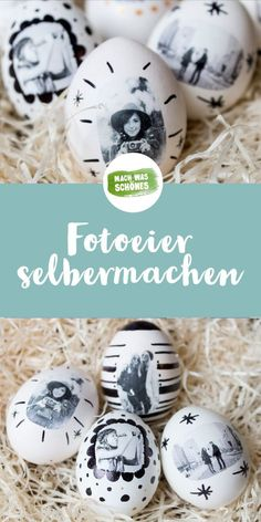 Photo eggs - make your own Easter eggs - Ostern: DIY Ostergeschenke & Osterdeko - Crafts Pot Mason Diy, Mason Jar Crafts, Mason Jars, Diy Hanging Shelves, Diy Wall Shelves, Wallpaper Marvel, Diy Cadeau, Egg Designs, Mason Jar Lighting
