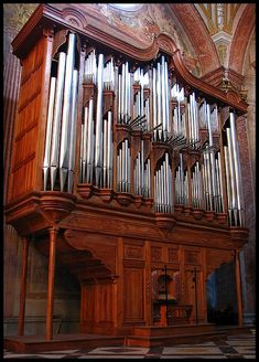 Pipe Organ in the Santa Maria Angeli church in Rome (by PerR)