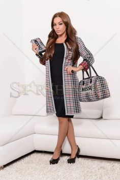 MissQ Nice Allure Grey Jacket