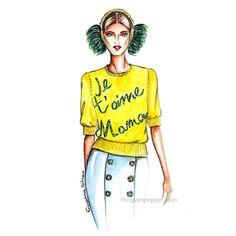 Tendenze moda autunno-inverno 2015/16: pull, maglioni e maglioncini | http://www.theglampepper.com/2015/11/24/tendenze-moda-autunno-inverno-201516-pull-maglioni-e-maglioncini/