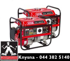 Be ready for #LoadShedding with our range of #RYOBI generators. For more information call us on 044 382 5140 or visit us in store.