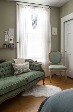 A comfortable and welcoming Newport apartment full of playful and eclectic finds. Lara's house is always open to guests and serves as a relaxing retreat in the cooler months when snow fills her from porch.