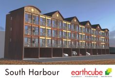 A current design project is this 28 unit student accomodation on Tauranga Harbour. The apartments are beautiful studio units based on the Tanzen Duo Design. The ability to stack and span for free makes the project viable.     See the whole story at... earthcube.co.nz/