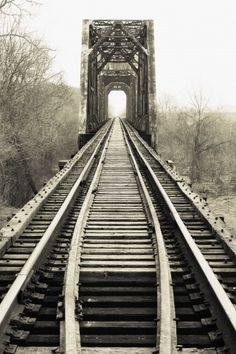 An old railroad bridge