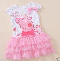 5a577d431408 27 Best Peppa pig dress images | Peppa pig dress, Pig party, Girls ...