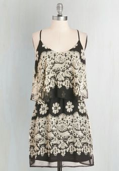 Tiers the Deal Dress, @ModCloth
