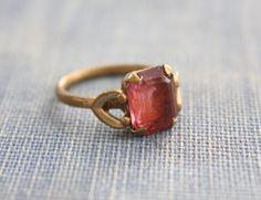 cute vintage ruby ring!