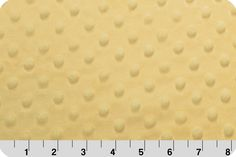 Yellow Minky from Shannon Fabrics > Cuddle Dimple ® Yellow < Smooth Dot by MaximizeYourFabric on Etsy