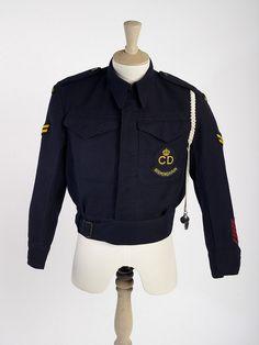 ARP Warden's uniform, 1939-45