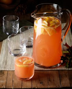 Captain Morgan's Port Royal Punch...may not be appropriate for a baby shower, but may turn out to be a useful recipe this summer!